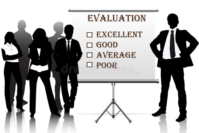 evaluation royalty free illustration