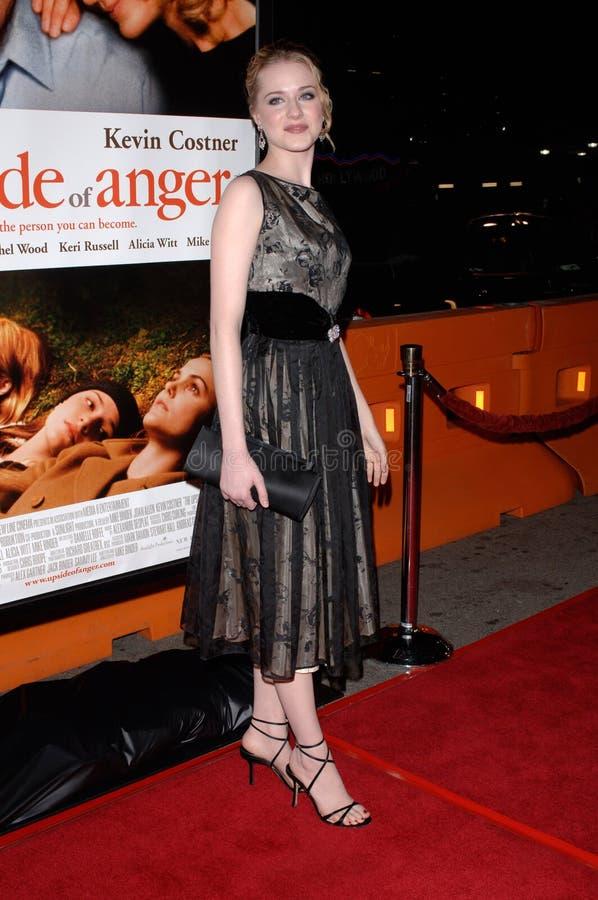 Evan Rachel Wood stock foto
