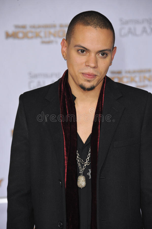 Evan Ross royalty-vrije stock foto