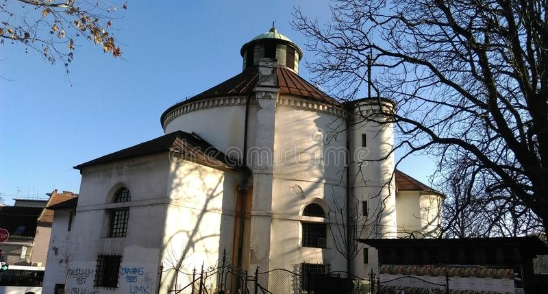Evangelical church in Zemun royalty free stock photography