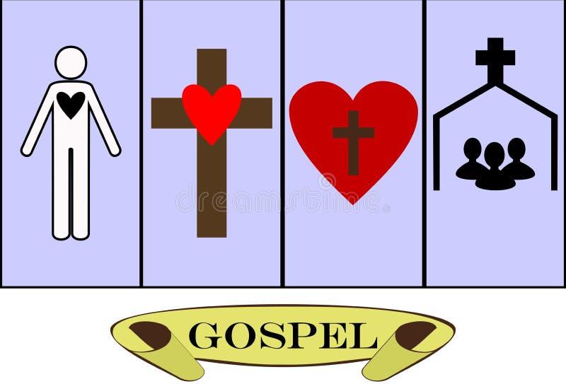 evangelie vector illustratie
