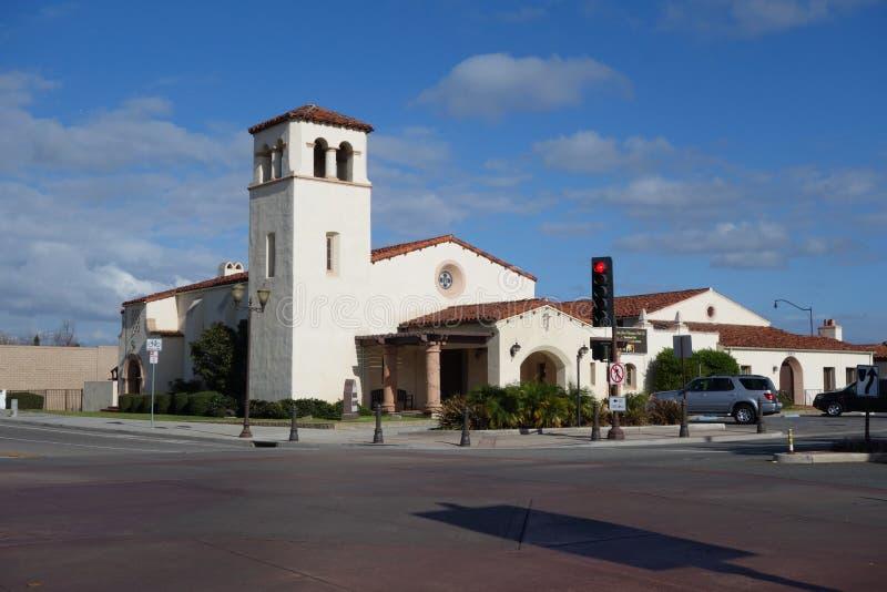 Evangelikal kyrka, Camarillo, CA arkivfoto