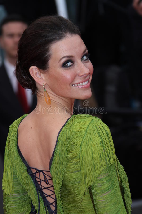 Evangeline Lilly foto de stock royalty free