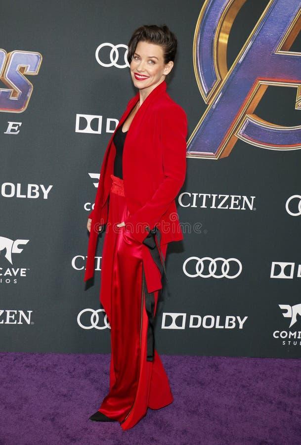 Evangeline Lilly stock afbeelding