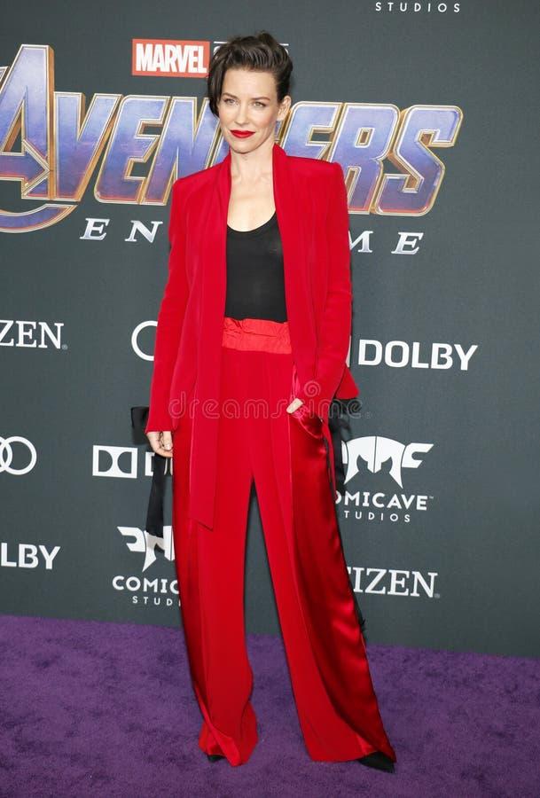 Evangeline Lilly royalty-vrije stock fotografie