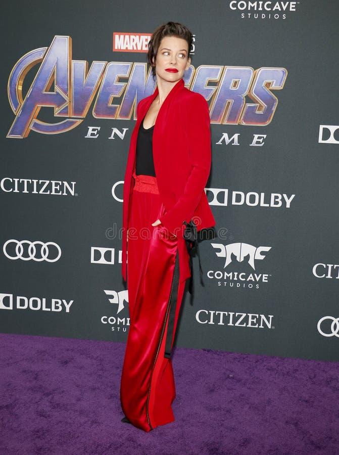 Evangeline Lilly royalty-vrije stock foto's