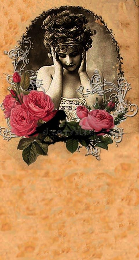Evangeline Rose Cover 4 stock photo