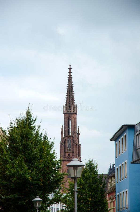 Evangelische Stadtkirche dans Offenburg, Allemagne photo stock