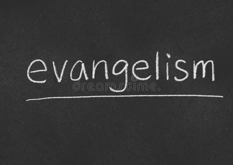 evangelism immagine stock libera da diritti