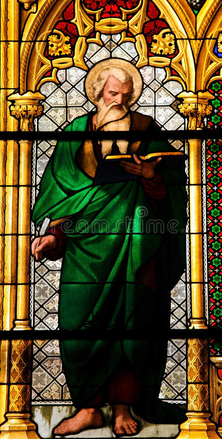 evangelistmatthew saint royaltyfri foto