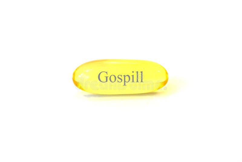 Evangelium ist Medikation für Ihren Geist stockfoto