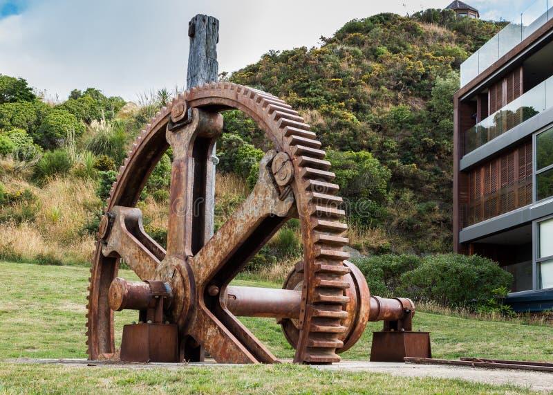 Evans Bay Gear Wheel lizenzfreie stockbilder