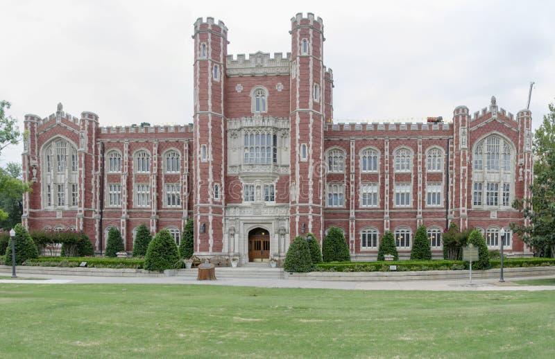 Evans Hall på universitetet av Oklahoma royaltyfri foto