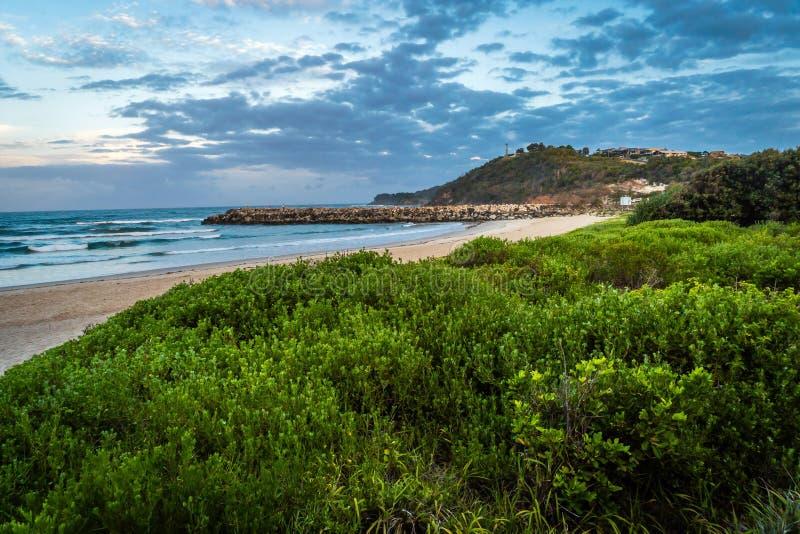 Evans Head in New South Wales, Australien lizenzfreie stockbilder