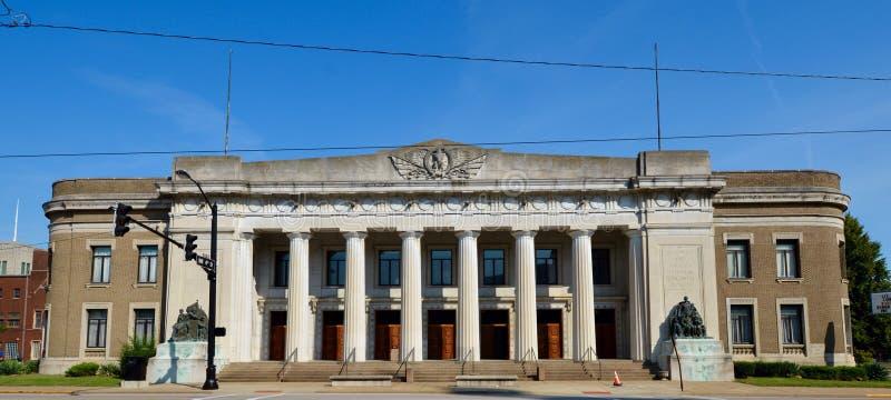 Evansville Coliseum στοκ φωτογραφία με δικαίωμα ελεύθερης χρήσης