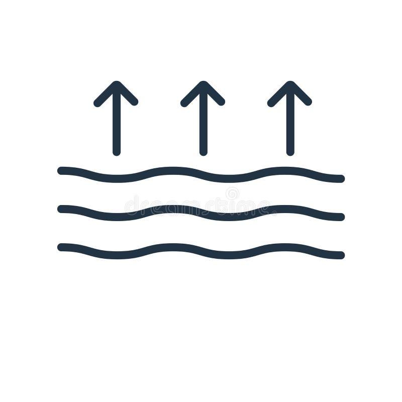 Monochrome Smoke Logo Set:  Smoke Or Steam Flame Shape For Logo Or Icon Design Stock