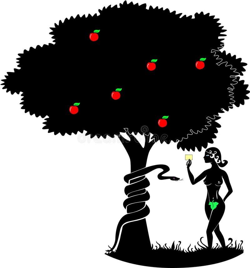 Eve vector illustration