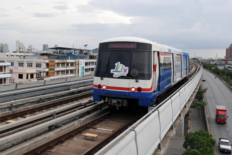 Evelated Serie in Bangkok lizenzfreie stockfotos