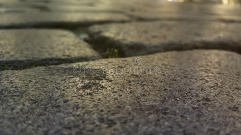 Evening ancient stones royalty free stock images
