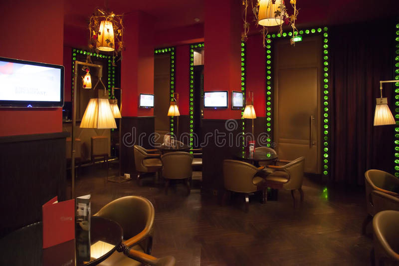 Download Evening bar stock photo. Image of design, lamp, luxury - 26168492