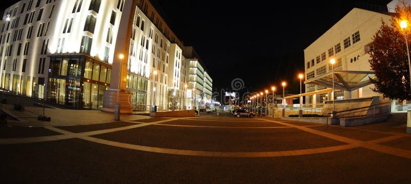 Evening in Bratislava stock photography