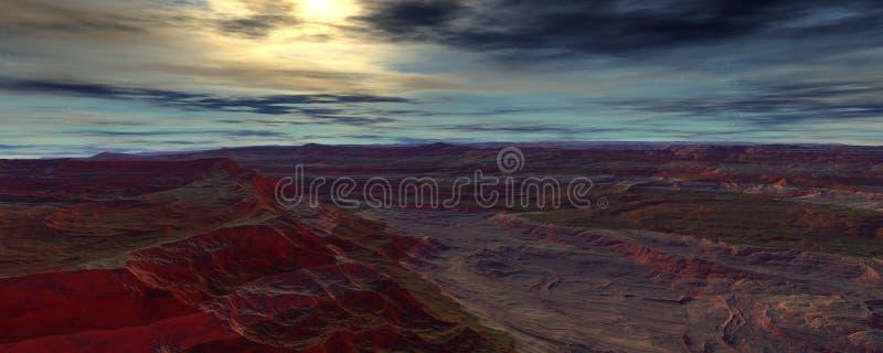 Evening on Centauri royalty free illustration