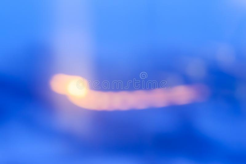 Evening city lights in motion. Abstract background, defocused textures and modern design concept - Evening city lights in motion royalty free illustration