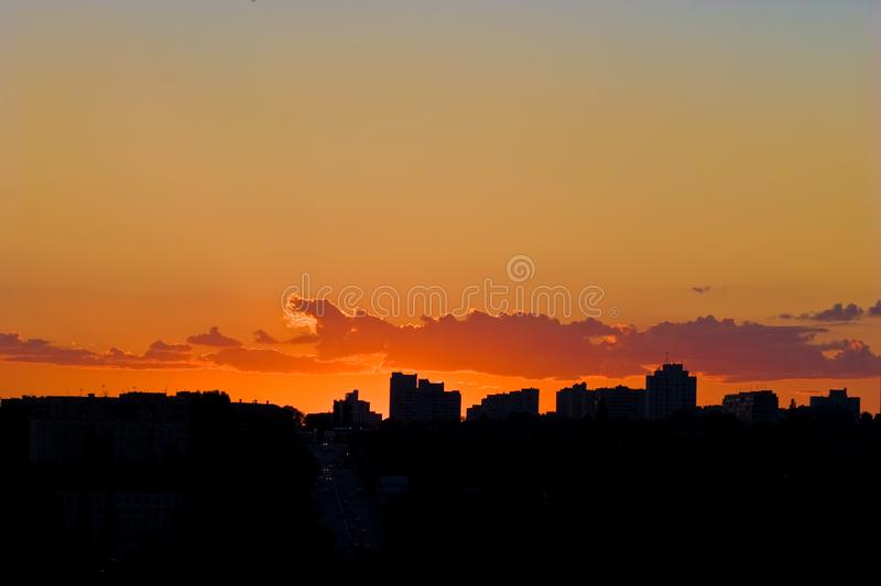 Free Stock Photography  Evening City Sunset Picture. Image  5058727 e1a22d6694d