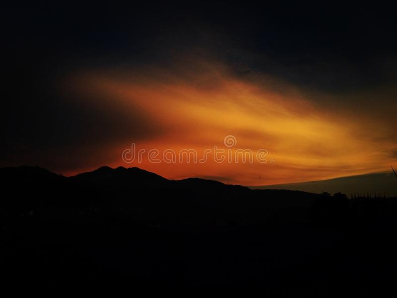Evening Click royalty free stock images