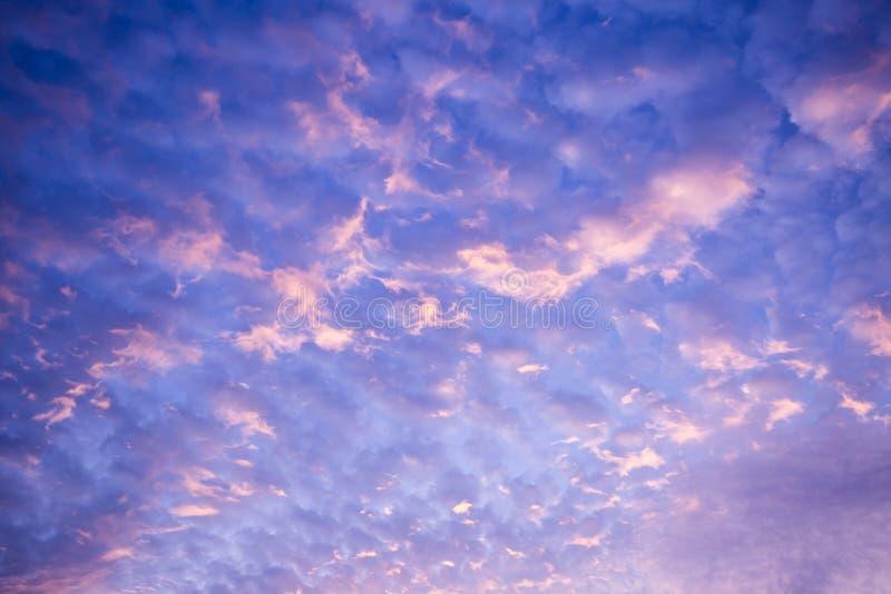 Evening cloud stock photography