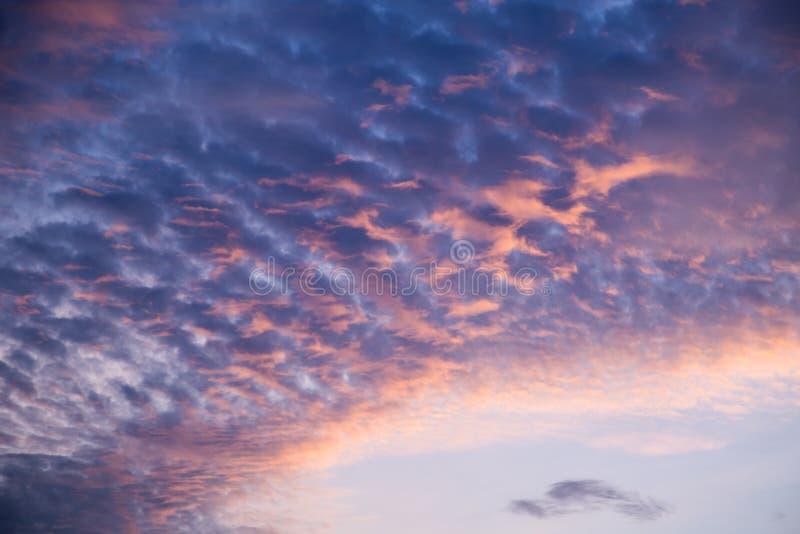 Evening cloud royalty free stock photos