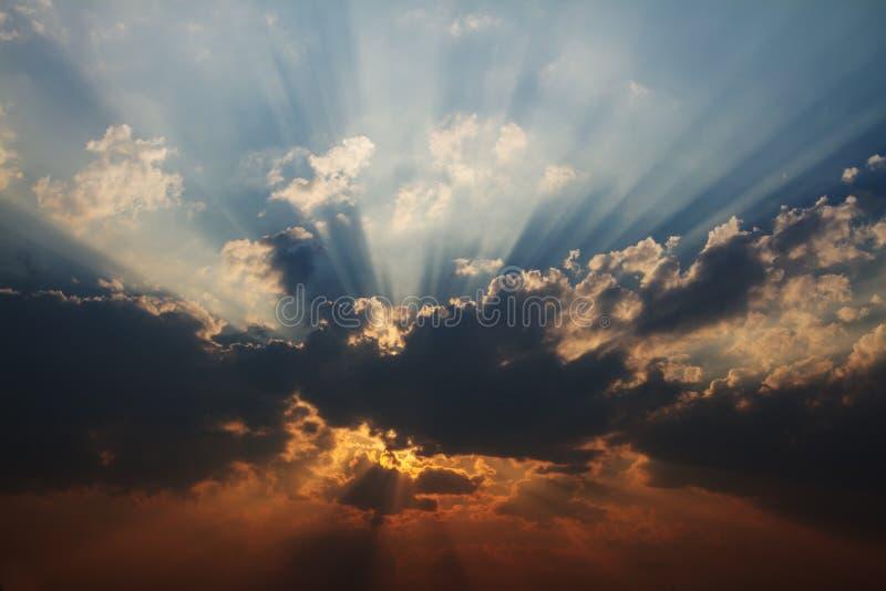 Evening Cloud stock photos