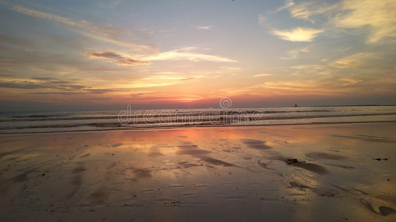 Beach madh stock photography