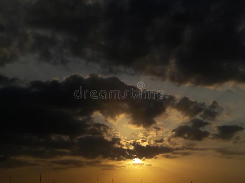 Evening royalty free stock images
