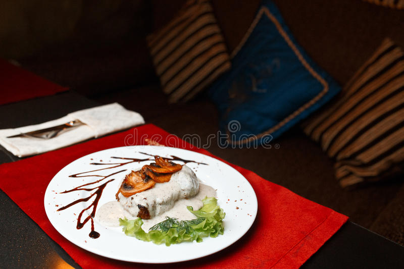 Evening Food stock photography