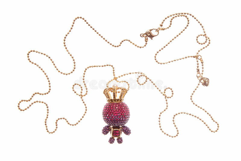 Download Evening gold necklace stock image. Image of bright, glamour - 28862307