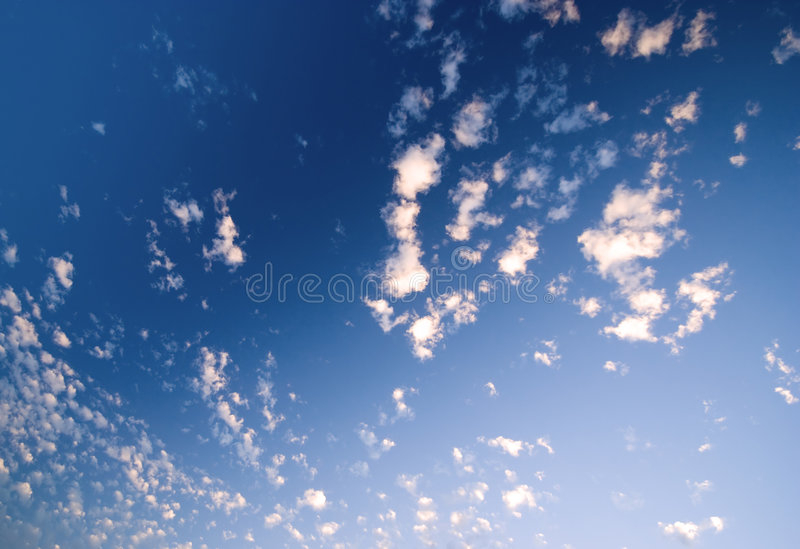 Evening Heaven royalty free stock images