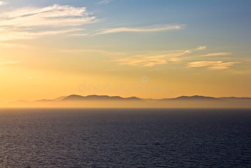 Download Evening horizon stock photo. Image of orange, sunrise - 28097354
