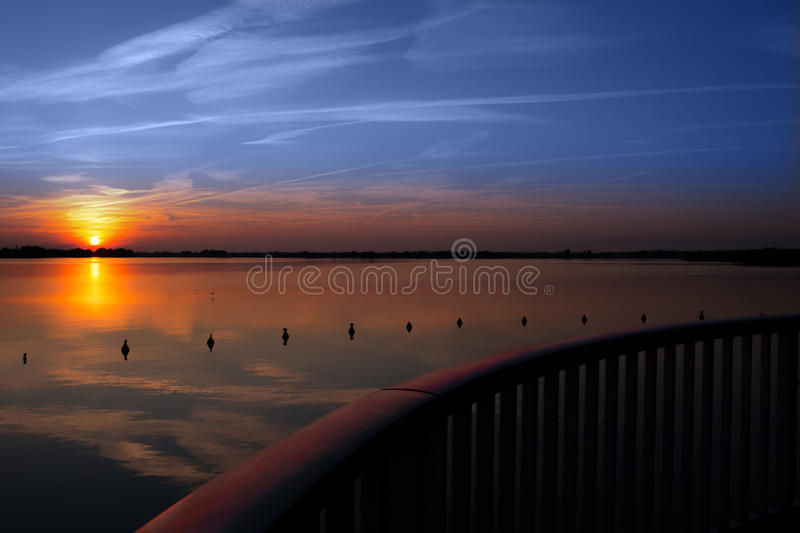 An evening impression 16 stock photography