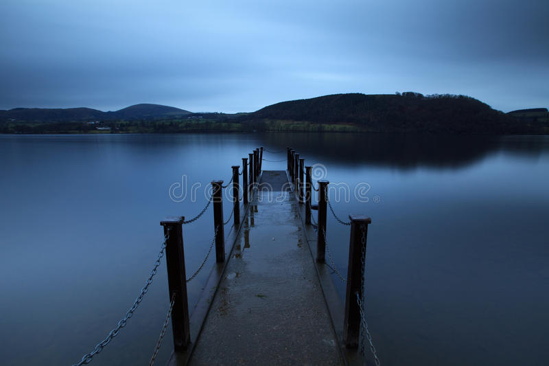 Download Evening Light on Ullswater stock photo. Image of background - 28223778