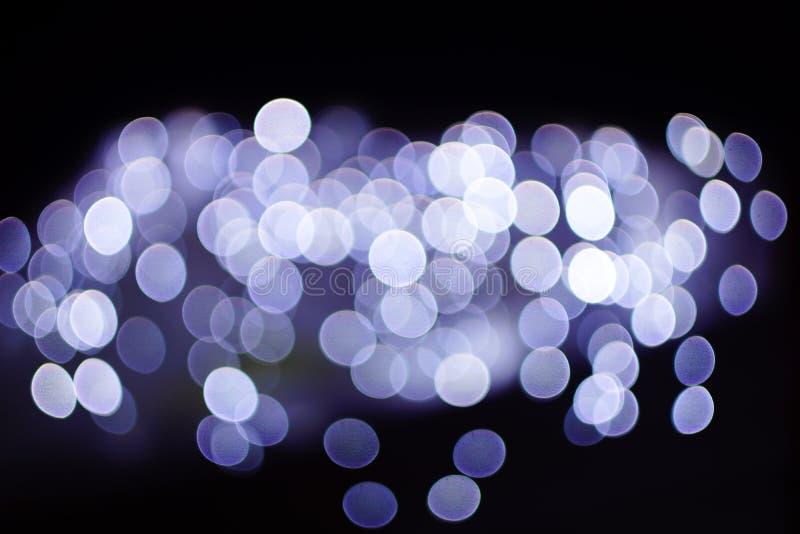 Evening lights of the city stock photos