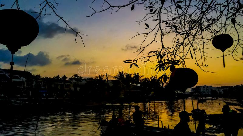 Hoi an ancient city royalty free stock photo