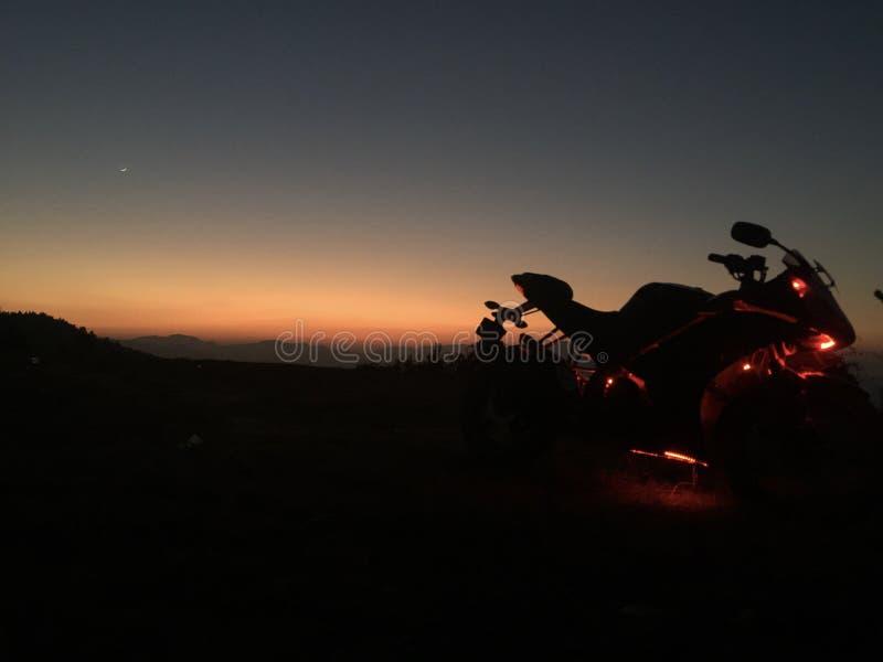Evening Ride stock photos