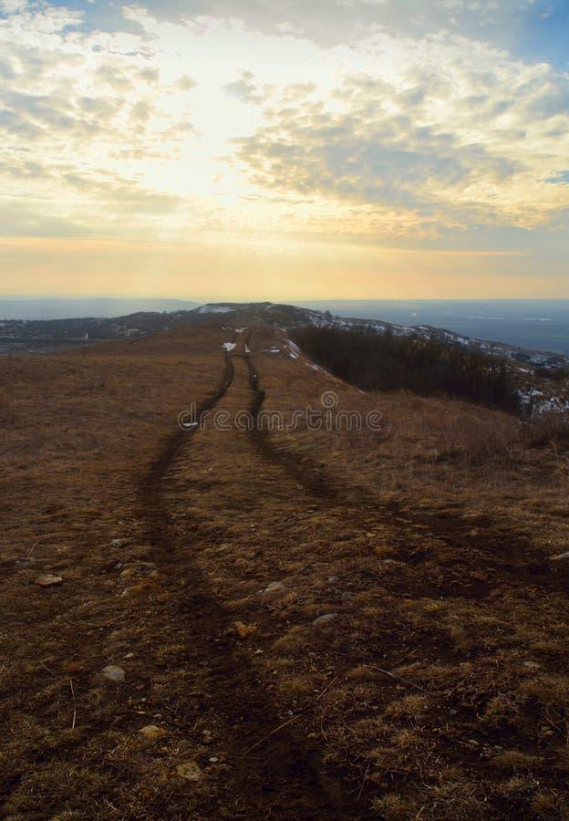 Download Evening road stock photo. Image of heath, fresh, climb - 36685402