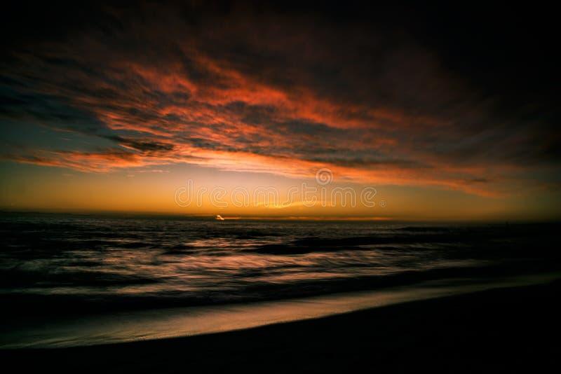 Evening& x27; s-Farben lizenzfreies stockbild