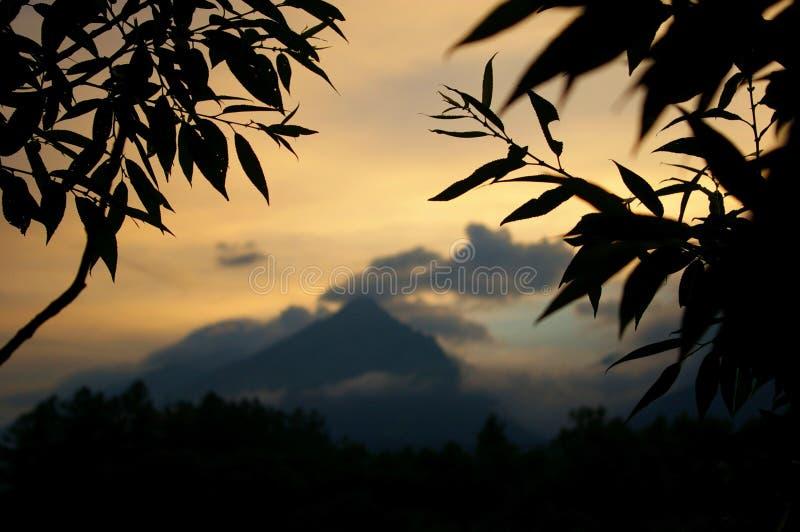 Evening silence stock photography