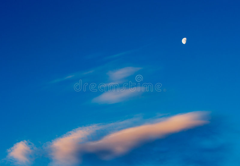 Download Evening sky stock photo. Image of abstract, light, natural - 507958