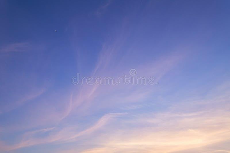 Evening sky royalty free stock photos