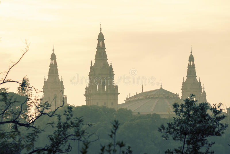 Download Catalan museum, Barcelona stock photo. Image of landmark - 29946732
