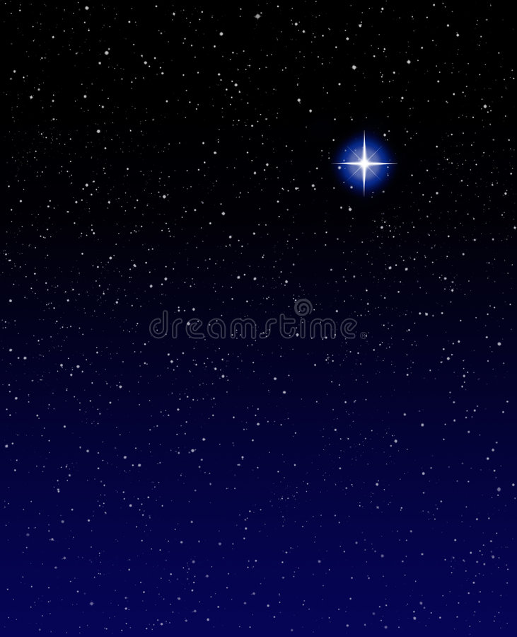 Evening Star Stock Photography